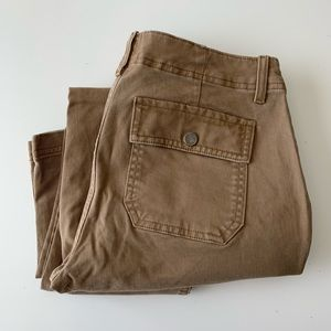 GAP Skinny ankle tan pants